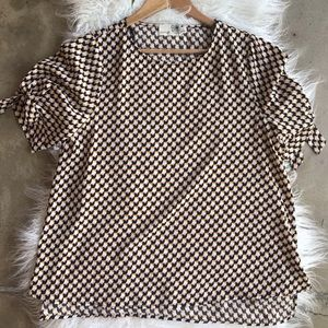 🌵NEW! Everleigh houndstooth shirt